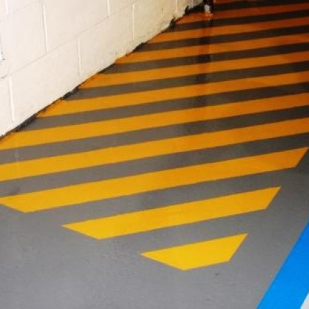 Holstein Ia Warehouse Floor Painting